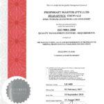 SABS Certificate of Registration